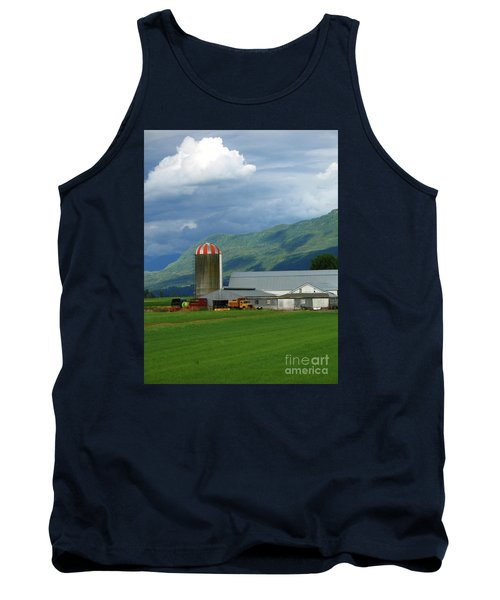 Farm In The Valley Tank Top by Ann Horn