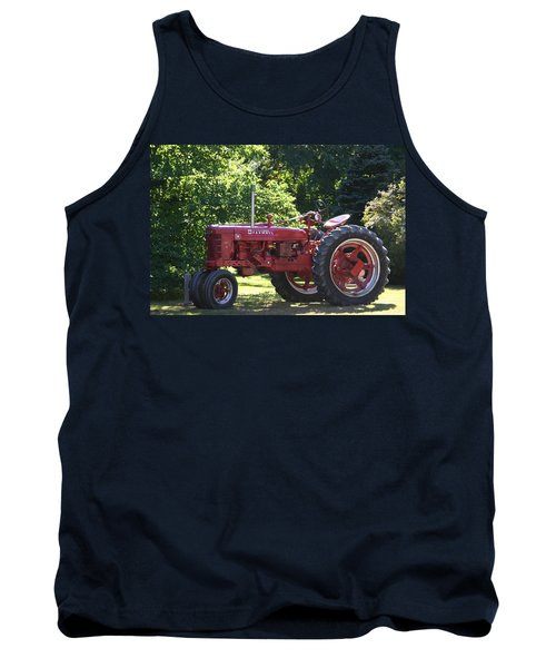 Farmall's End Of Day Tank Top