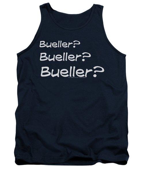 Ferris Bueller - Bueller? Tank Top
