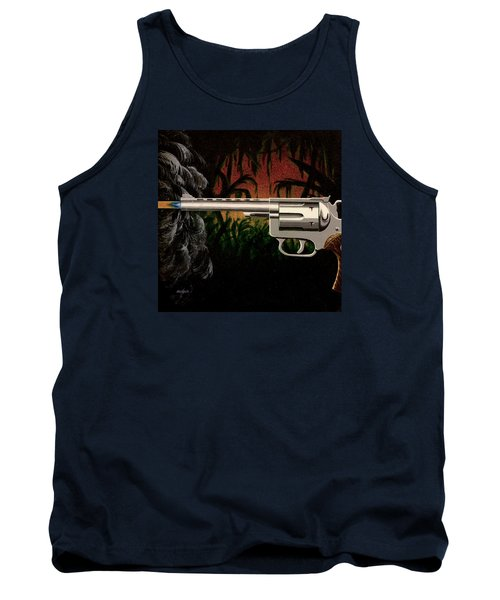 Fire In The Jungle Tank Top by Jack Malloch