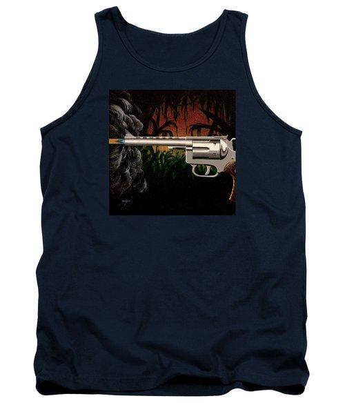 Fire In The Jungle Tank Top