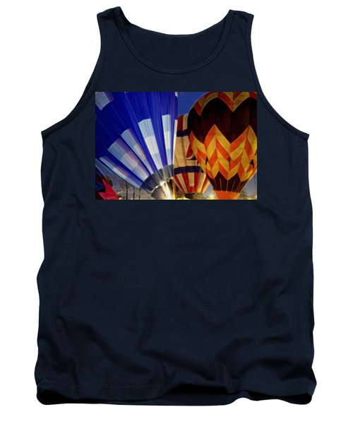 Tank Top featuring the photograph Firing Up by Kathy Bassett