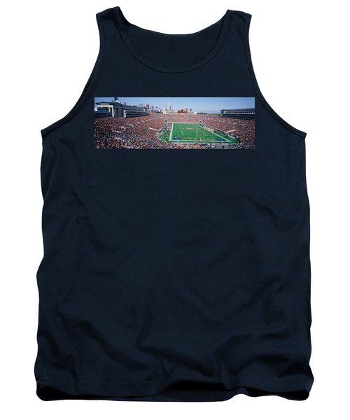 Football, Soldier Field, Chicago Tank Top