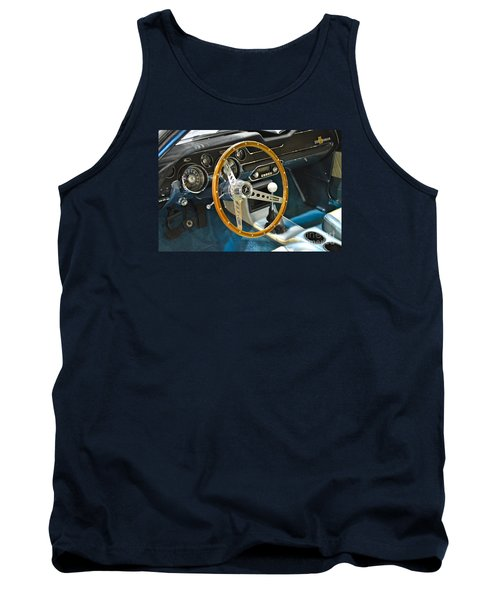 Ford Mustang Shelby Tank Top by Pamela Walrath