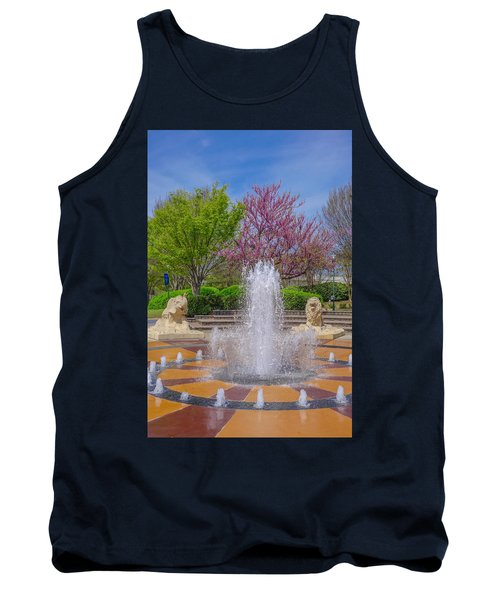 Fountain In Coolidge Park Tank Top