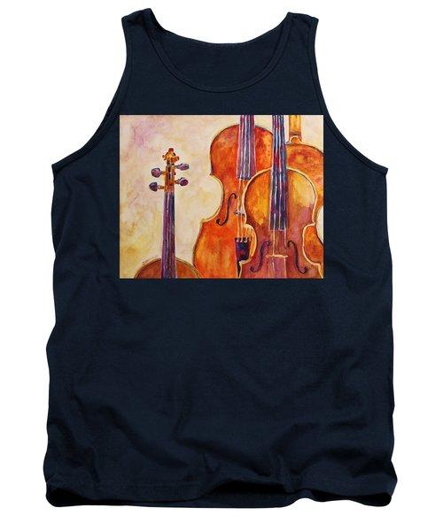 Four Violins Tank Top