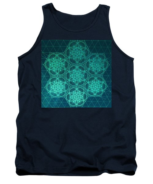 Fractal Interference Tank Top
