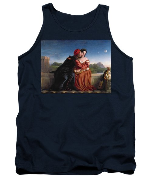 Francesca Da Rimini, Exh. 1837 Oil On Canvas Tank Top
