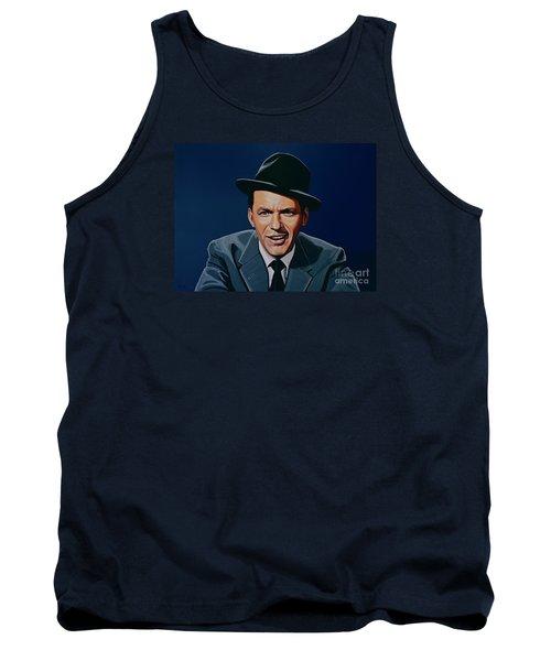 Frank Sinatra Tank Top by Paul Meijering