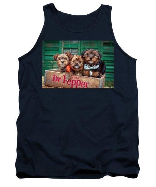 Furry Trio Tank Top