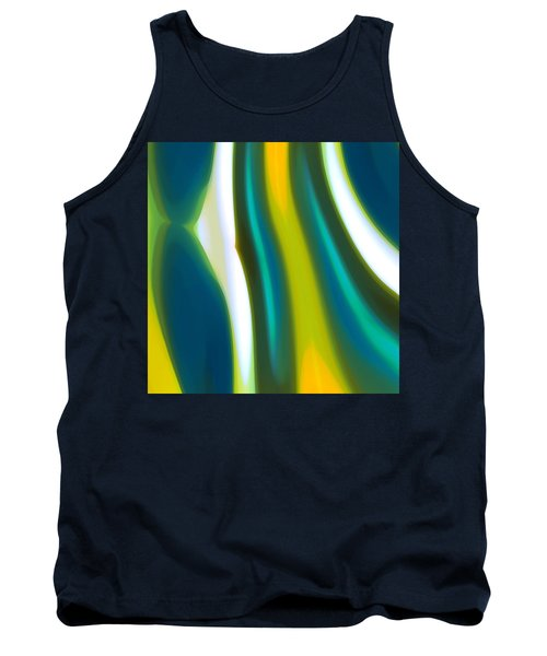 Abstract Tide 9 Tank Top