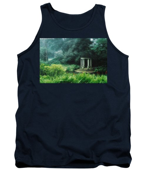 Gazebo Longwood Gardens Tank Top