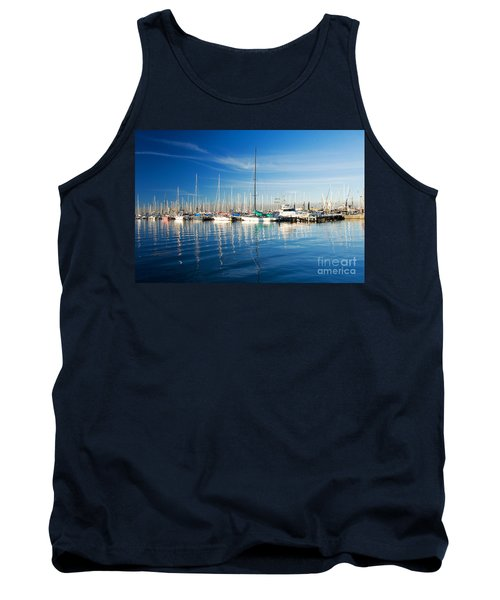 Tank Top featuring the photograph Gem Pier Of Williamstown by Yew Kwang
