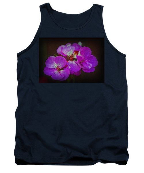 Tank Top featuring the photograph Geranium Blossom by Hanny Heim