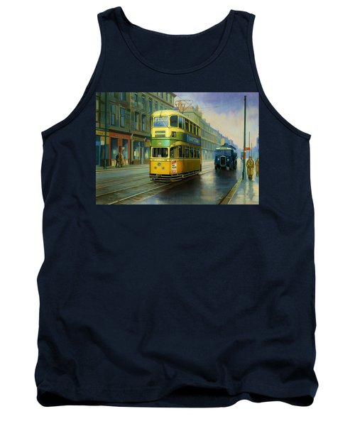 Glasgow Tram. Tank Top