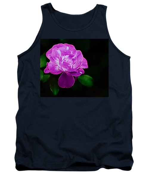 Glowing Rose II Tank Top