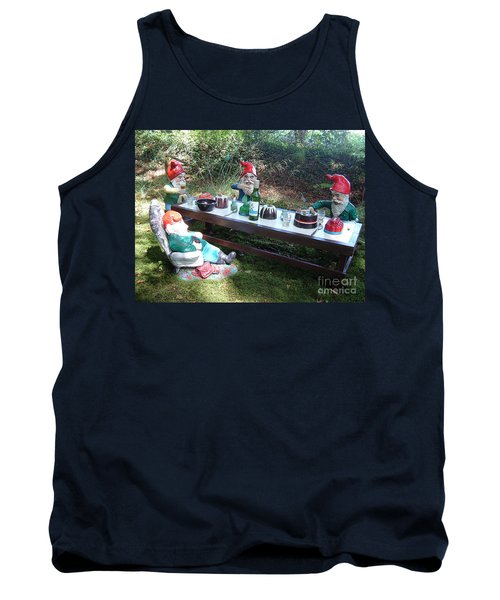 Gnome Cooking Tank Top