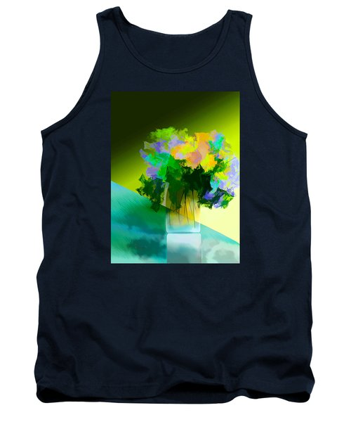 Go Fleur Tank Top by Frank Bright