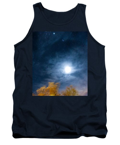 Tank Top featuring the photograph Golden Tree  by Angela J Wright
