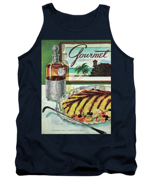 Gourmet Cover Of An Omelette Au Ruhm Tank Top