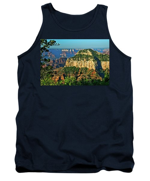 Tank Top featuring the photograph Grand Canyon Peak Angel Point by Bob and Nadine Johnston