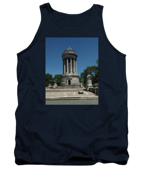 Soldier's And Sailor's Monument New York City Tank Top by Tom Wurl