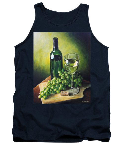 Grapes And Wine Tank Top