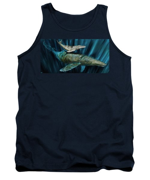 Graywhale Momma And Calf Tank Top
