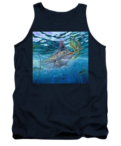 Great Blue And Mahi Mahi Underwater Tank Top