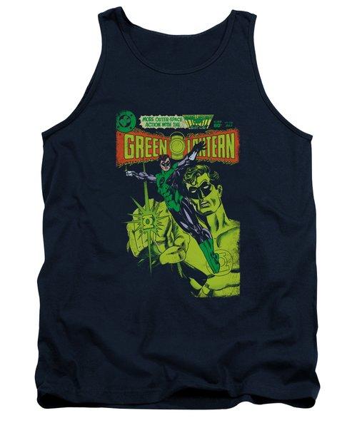 Green Lantern - Vintage Cover Tank Top