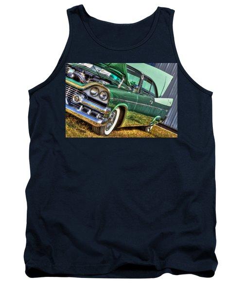 Green Machine Tank Top
