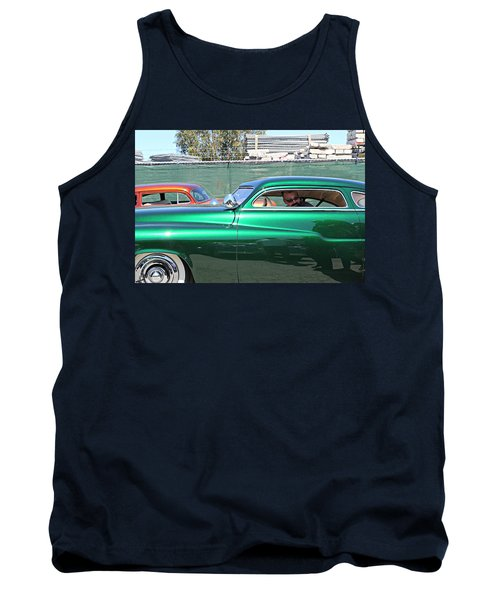 Green Merc Tank Top
