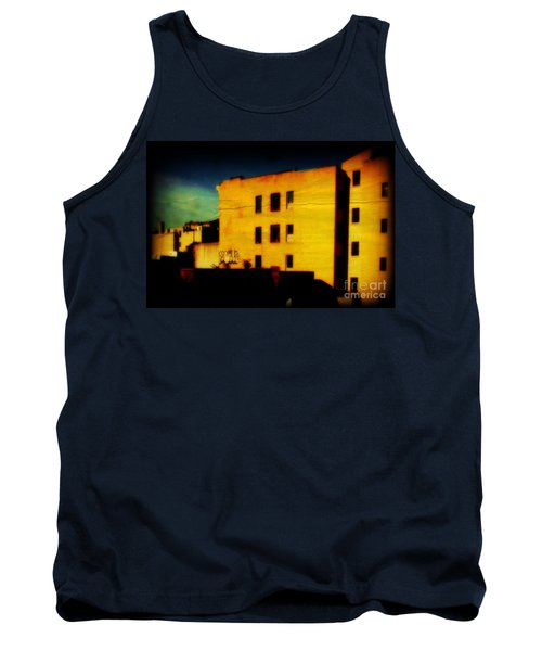 Tank Top featuring the photograph Green Sky by Miriam Danar