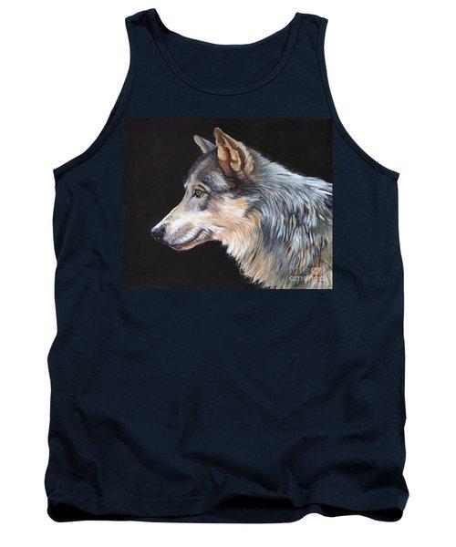 Grey Wolf Tank Top