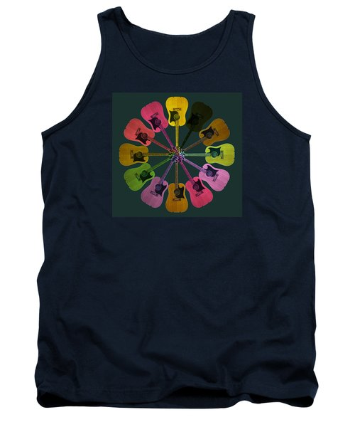Guitar O Clock Tank Top