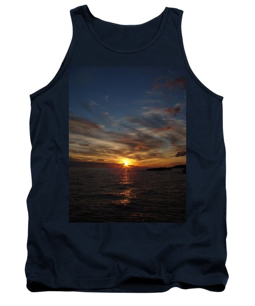 Tank Top featuring the photograph Gull Rise by Bonfire Photography