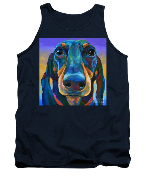 Tank Top featuring the painting Gus by Robert Phelps