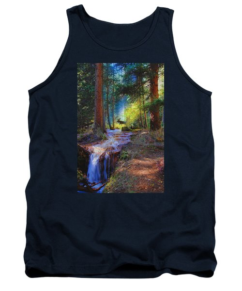 Hall Valley Moose Tank Top by J Griff Griffin