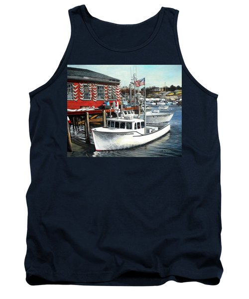 Hard Merchandise Rocky Neck Tank Top