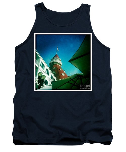 Haunted Hotel Del Tank Top