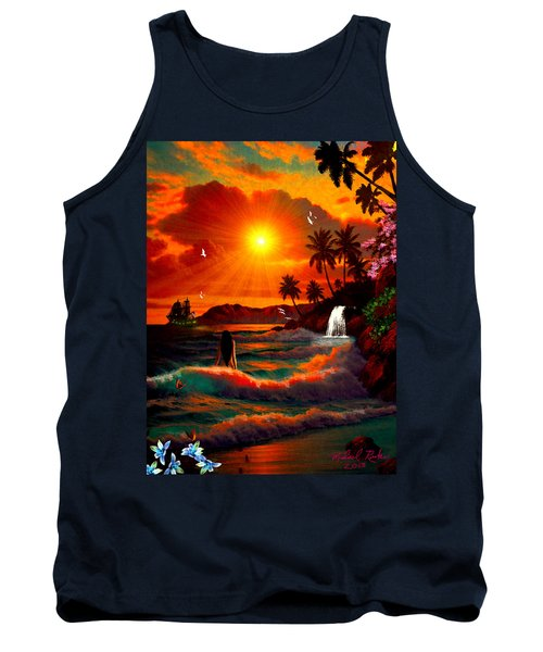 Hawaiian Islands Tank Top