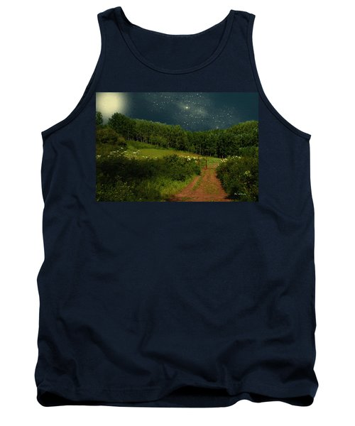 Hazy Moon Meadow Tank Top