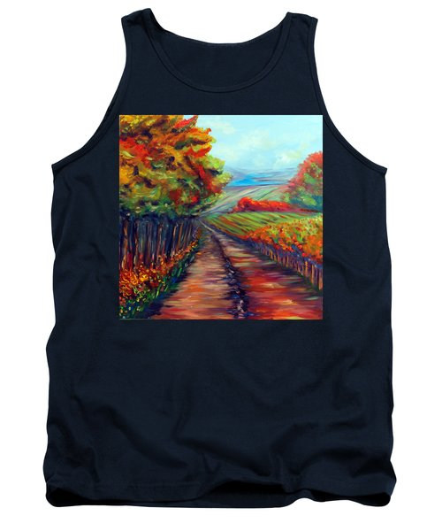 He Walks With Me Tank Top