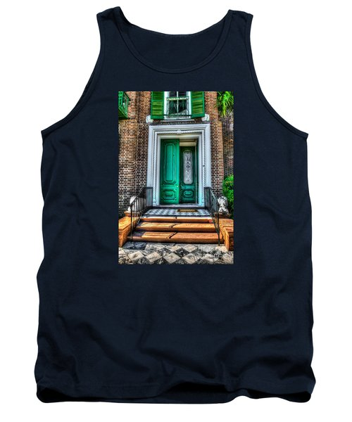 Historic Charleston Sc Door Tank Top