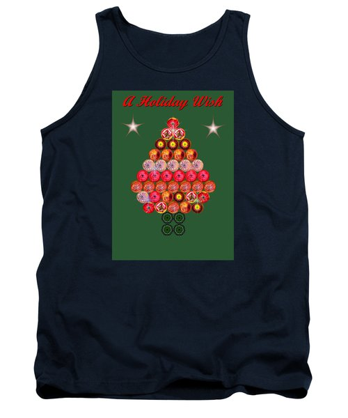 Holiday Tree Of Orbs 2 Tank Top