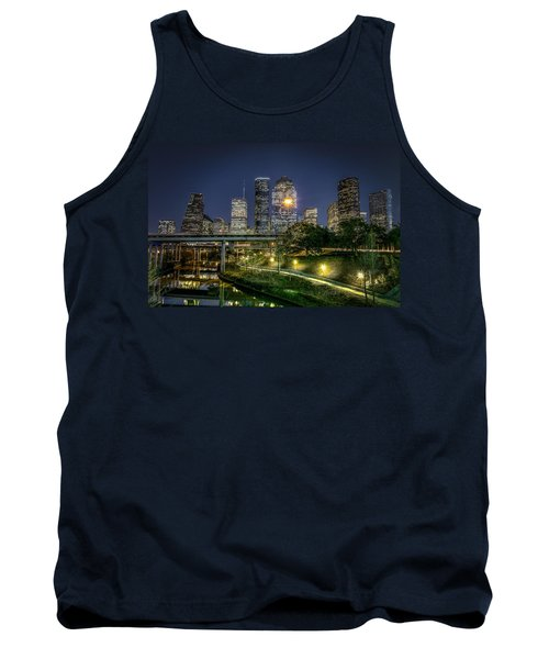 Houston On The Bayou Tank Top