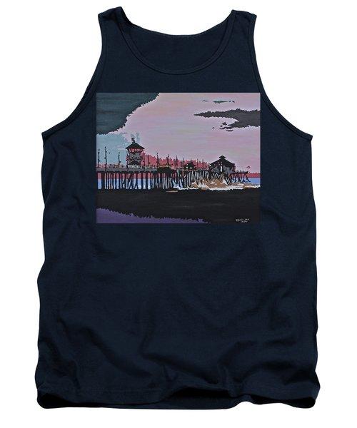 Huntington Beach Pier 1 Tank Top