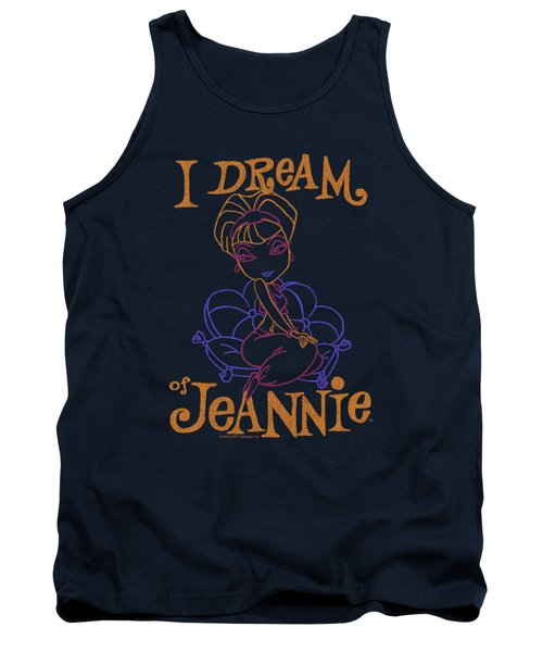 I Dream Of Jeannie - Paint Tank Top