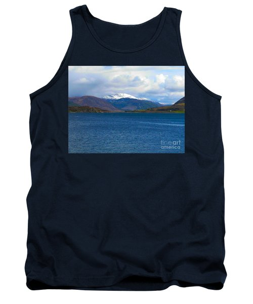 Ice Capped Mountains At Ullapool Tank Top