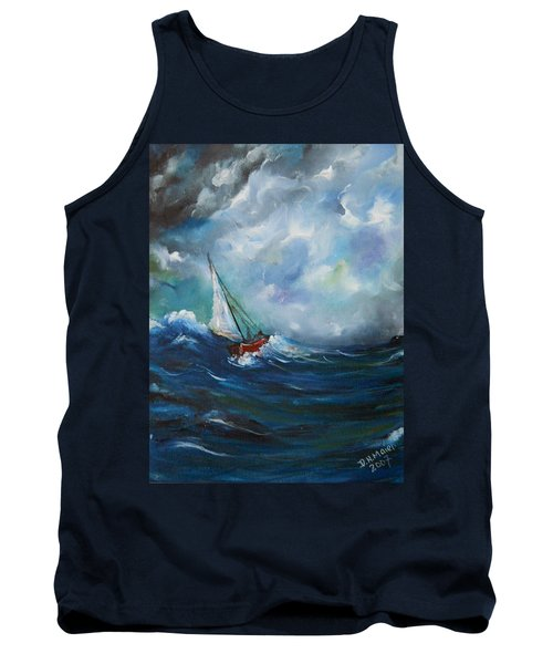 In The Storm Tank Top by Dorothy Maier